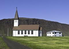 Reykhólakirkja (geh2012) Tags: mountain church iceland ísland kirkja geh fjall reykhólar reykhólakirkja gunnareiríkur
