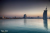 Life takes us by surprise and orders us to move toward the unknown -even when we don't want to and when we think we don't need to (Max Loxton) Tags: city sunset sky nature beautiful beauty architecture landscape dubai natural uae cityscapes arches bluesky bluehour ppg burj scrappers khalifah yasirnisar maxloxton yasirnisarphotography