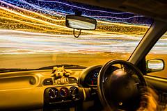 (Attila Pasek) Tags: light car night drive trail longexposuretime