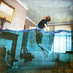 House of Floods. (Thomas Oscar Miles) Tags: house art water photography conceptual edit limits finearts conceptualphotography brookeshaden