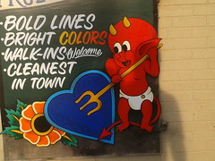 Hot Stuff in Cookeville, TN (mgrhode1) Tags: tattoos comicbook devil hotstuff harveycomics