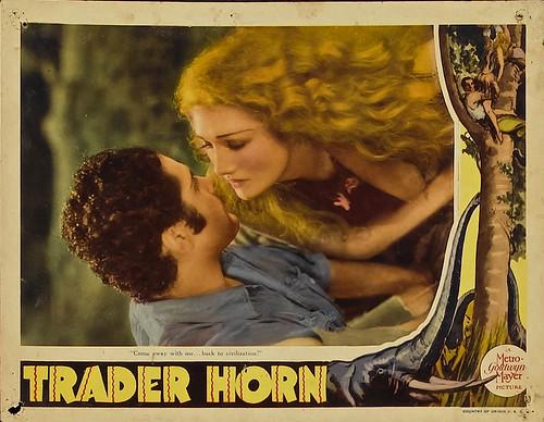 Trader Horn (MGM, R-1938). Lobby Card  (11