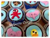 Cup Cakes Pocoyo (Denise Chagas) Tags: cup cake pocoyo