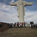 The group at El Cristo, a statue of Jesus that is thought to provide protection over the city of Cochabamba - Bolivia and the Galapagos Islands cross-cultural