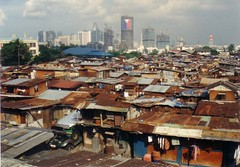 Slums (albertsantoszambrano) Tags: philippineflag slums urbanization incomedisparity rizaltower