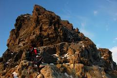 Climbing Fuorcla Prievlusa (sylweczka) Tags: snow mountains alps switzerland climb tour glacier ridge hochtour pizbernina biancograt sylweczka