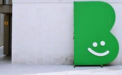 Sonre, es Burgos - Smile, is Burgos (mallennium) Tags: b verde green smile logo letter burgos cartel sonra letra
