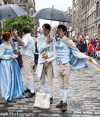 Mansfield Presents Lovers' Vows_Edinburgh Fringe 2013 (Mick PK) Tags: uk scotland edinburgh streetphotography places janeausten streettheatre edinburghfringe charlotteproductions edinburghfringefestival2013 mansfieldpresentsloversvows