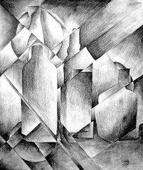 "Cubism pencil exercise • <a style=""font-size:0.8em;"" href=""https://www.flickr.com/photos/78624443@N00/9758483576/"" target=""_blank"">View on Flickr</a>"