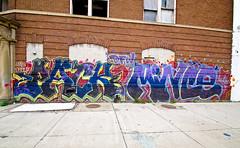 Pack, Mince (TheHarshTruthOfTheCameraEye) Tags: graffiti mine detroit pack dfw