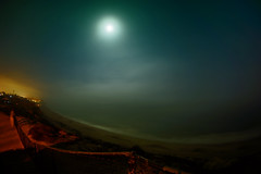 Pacific Moon (/\ltus) Tags: california longexposure moon beach sony pacificocean socal southerncalifornia orangecounty sanclemente sanclementestatepark nothdr nex7