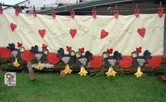 Bandô de GaLinHas (Ma Ma Marie Artcountry) Tags: galinha patchwork bandô galinhacountry galinhadetecido galinhaemtecido bandôdegalinhas