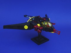 SCW-13y Thanatus (STG: R4 - Blacktron) (Joshua Sanders) Tags: lego stg starfighter blacktron