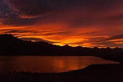 At sunset in Stodvarfjordur (*Jonina*) Tags: sunset sky reflection clouds iceland sland sk himinn stvarfjrur speglun 10000views 5000views slsetur 100faves 50faves 4000views 1500views explored 7000views 8000views 200faves 9000views stodvarfjordur jnnagurnskarsdttir vision:sunset=099