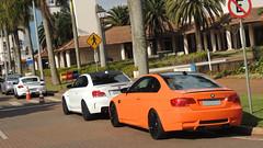 BMW 1M, BMW M3, Porsche Cayman R e Subaru Impreza WRX (brunomascarenhas) Tags: porsche subaru bmw cayman m3 impreza wrx coupé 1m e92 caymanr