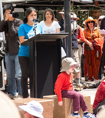 Climate Action 17/1/2013 (theerstwhilekate) Tags: rally protest civic canberra climatechange garemaplace climateaction