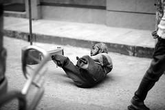 Rolling with the dice (N A Y E E M) Tags: street random dusk candid beggar disabled bangladesh carwindow gec chittagong