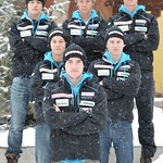 2013 BC Ski Team Guys PHOTO CREDIT: Gordie Bowles