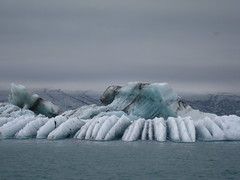 Ice Lagoon (VERUSHKA4) Tags: travel blue summer sky ice nature set canon grey iceland amazing europe day cloudy july lagoon explore iceberg unusual jokulsarlon northcountry