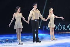 Alissa Czisny, Ryan Bradley & Elena Leonova