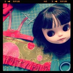 My bodiless sewing companion ;)