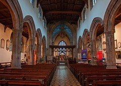 Bangor Cathedral - Interior