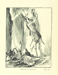 Image taken from page 62 of 'The Bow and the Sword. A romance ... Illustrated, etc'