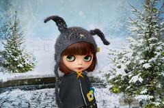 Winter Walk (lily_whitebear) Tags: blythe custom meimei zaloa