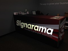 Lobby Dimensional Lettering and Graphics | Signarama Anderson, SC