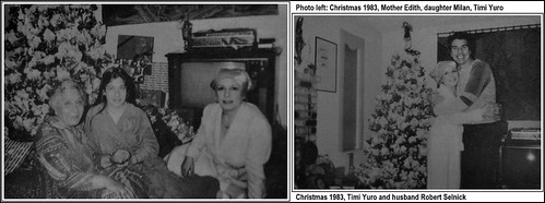 209 Timi Yuro & family - Christmas 1983