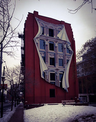 image (khoosh) Tags: winter snow toronto building art downtown artistic khashayar