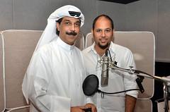 هاني أبوالجدايل مع الفنان عبدالله الرويشد (هاني أبوالجدايل) Tags: عبدالله هاني الرويشد استديو أبوالجدايل