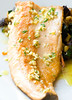 Bass back, cooked in juniper and almond (CatalinaLinkava) Tags: cookingrecipes fishrecipes healthydinner