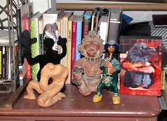 Icons of my Life (bballchico) Tags: sculpture man color art museum painting artwork icons image flute clay mayan artists latino crow exhibits artmetal artexhibits galleriesartmuseums