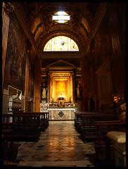 Cappella Capranica (DameBoudicca) Tags: italien italy rome roma church italia arch gothic arc iglesia kirche chape