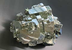 Pyrite (Ron Wolf) Tags: nature colorado crystal mineral leadville geology isometric pyrite earthscience mineralogy