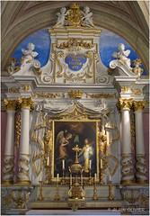 Jeux de lumière dans la chapelle de Bonne Nouvelle