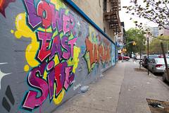 A Lower East Side Mural (Sean Davis) Tags: newyorkcity newyork graffiti mural unitedstates lowereastside