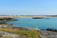 Treaddur Bay (diedintragedy) Tags: uk sea seascape beach water wales landscape rocks headlands irishsea anglesey northwales treaddurbay