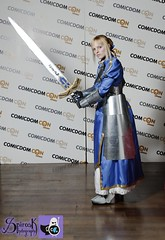 2nd place winner: Saber from Fate Stay Night/ Fate Zero: Comicdom Con Athens 2014: prejudging photobooth (SpirosK photography) Tags: costume official photobooth cosplay contest athens greece fate saber hau arturia fatestaynight costumeplay   prejudging cosplaycontest fatezero cosplayevent hellenicamericanunion comicdomcon comicdoncon2014