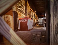 Golden Era (Tom Frundle) Tags: usa signs tn pentax cocacola southeast goldenhour 2014 nolensville middletennessee filmfilter tomfrundlephotography
