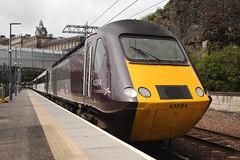 43384 Edinburgh 05/08/2015 (Flash_3939) Tags: uk station train scotland mixed edinburgh rail railway august virgin crosscountry xc waverley eastcoast hst virgintrains livery vtec mk3 2015 highspeedtrain 43312 43384 powercar ec60 virgintrainseastcoast centralscotlandrover