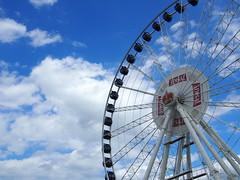 Ferris wheel, Gdansk!