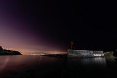 Bagliori (LifeReporter) Tags: notte stelle cielo gaiola napoli colori bellezza mare luce