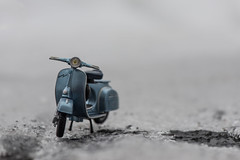 Vespa in the snow (le cabri) Tags: vespa 90 super sprint 1965 diecast ice meltedice snow model motorbike 60s 60's blue toy cloudy evening iconic transportation landvehicle outdoors europeanculture europe hippie cute toymotorcycle retro retrostyled replica 19601969 1960 frontview