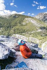 Stephanie Hayos (Tielma) Tags: california climbing loversleap rockclimbing stephaniehayos tradclimbing usa