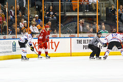 """Missouri Mavericks vs. Allen Americans, March 3, 2017, Silverstein Eye Centers Arena, Independence, Missouri.  Photo: John Howe / Howe Creative Photography • <a style=""""font-size:0.8em;"""" href=""""http://www.flickr.com/photos/134016632@N02/32430578464/"""" target=""""_blank"""">View on Flickr</a>"""