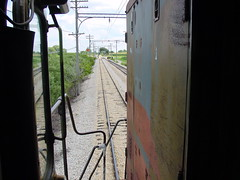 Espee Point of View (Twigy BNSF) Tags: southern pacific sp espee emd sd7 1518 irm illinois railway museum cab ride railroad high hood