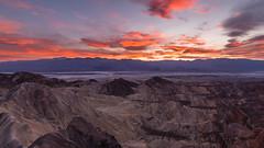 Chaotic Contours (carolina_sky) Tags: zabriskiepoint deathvalleynationalpark badwaterbasin saltplaya sunset rocks formation dunes contours pentaxk1 pentax1530mm pixelshift