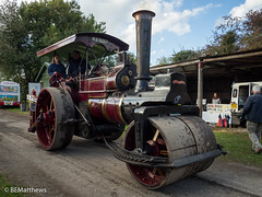 Klondyke 2016 (Ben Matthews1992) Tags: klondyke steam party 2016 staffordshire england british britain old vintage historic preserved classic vehicle tarnsport haulage traction engine 1903 burrell scc roller rolling 2623 ma8207 aclass